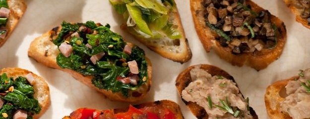 Crostini assortiti