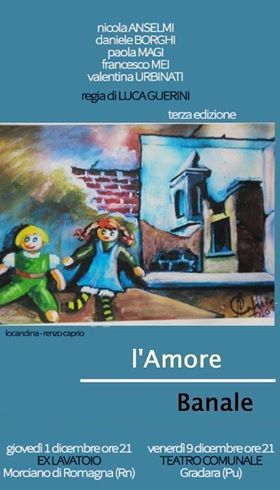 L'Amore Banale - 9 dic.