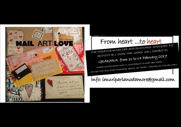 Mail Art Love - From heart to heart