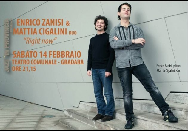ENRICO ZANISI & MATTIA CIGALINI duo 'Right now'